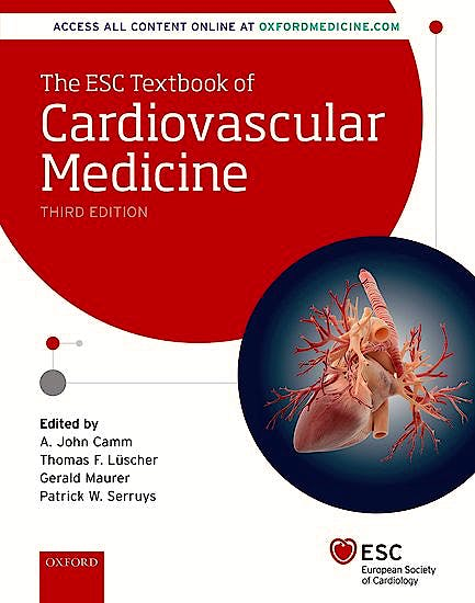 Portada del libro 9780198784906 The ESC Textbook of Cardiovascular Medicine, 2 Vols.