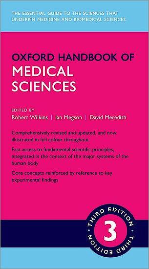 Portada del libro 9780198789895 Oxford Handbook of Medical Sciences