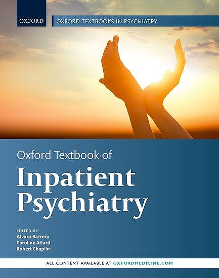Portada del libro 9780198794257 Oxford Textbook of Inpatient Psychiatry