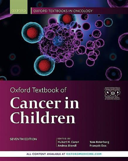 Portada del libro 9780198797210 Oxford Textbook of Cancer in Children