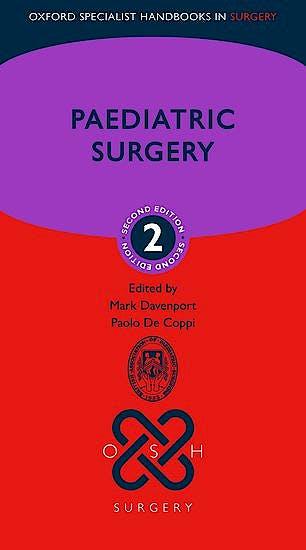 Portada del libro 9780198798699 Paediatric Surgery