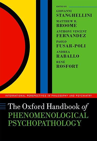Portada del libro 9780198803157 The Oxford Handbook of Phenomenological Psychopathology