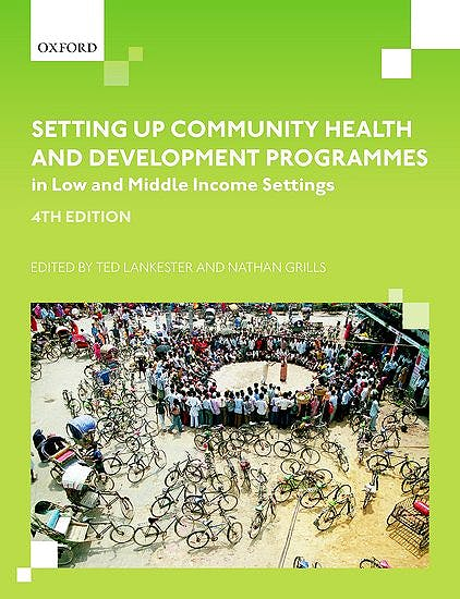 Portada del libro 9780198806653 Setting up Community Health and Development Programmes in Low and Middle Income Settings