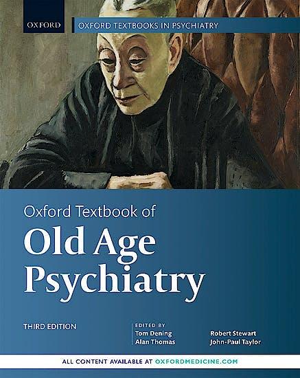Portada del libro 9780198807292 Oxford Textbook of Old Age Psychiatry