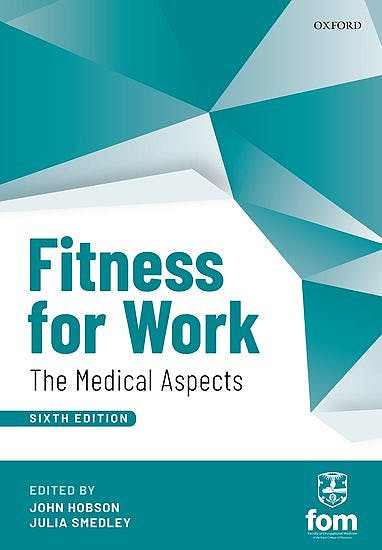 Portada del libro 9780198808657 Fitness for Work. The Medical Aspects
