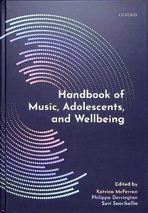 Portada del libro 9780198808992 Handbook of Music, Adolescents, and Wellbeing