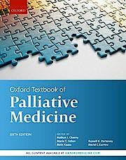 Portada del libro 9780198821328 Oxford Textbook of Palliative Medicine