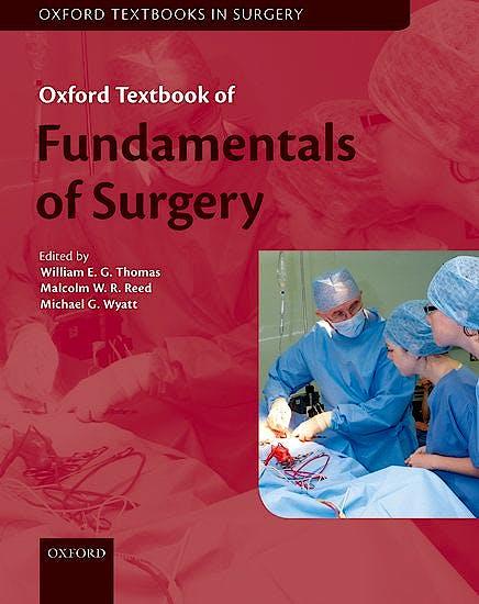 Portada del libro 9780198822349 Oxford Textbook of Fundamentals of Surgery