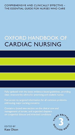 Portada del libro 9780198832447 Oxford Handbook of Cardiac Nursing