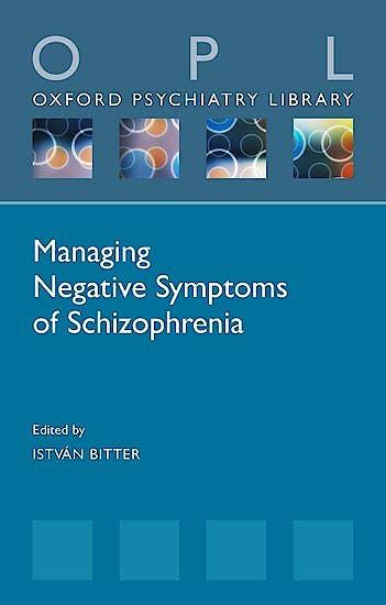 Portada del libro 9780198840121 Managing Negative Symptoms of Schizophrenia
