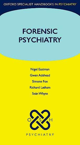 Portada del libro 9780198843399 Forensic Psychiatry