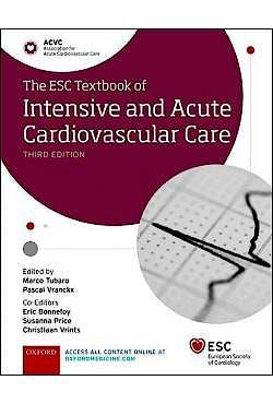 Portada del libro 9780198849346 The ESC Textbook of Intensive and Acute Cardiovascular Care