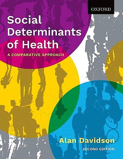 Portada del libro 9780199032204 Social Determinants of Health. A Comparative Approach