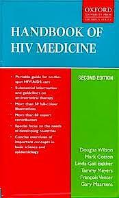 Portada del libro 9780199053667 Handbook of HIV Medicine