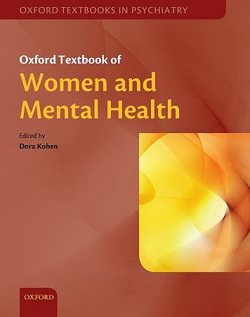 Portada del libro 9780199214365 Oxford Textbook of Women and Mental Health