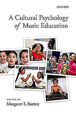 Portada del libro 9780199214389 A Cultural Psychology of Music Education
