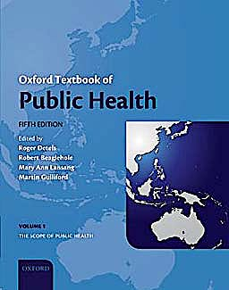 Portada del libro 9780199218707 Oxford Textbook of Public Health, 3 Vols.