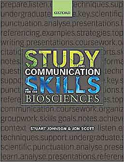 Portada del libro 9780199219834 Study and Communication Skills for the Biosciences