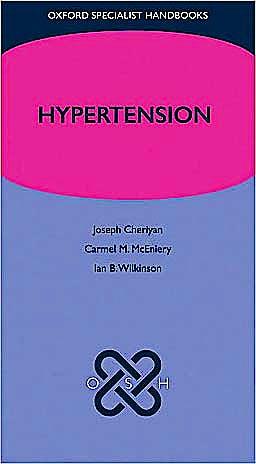 Portada del libro 9780199229550 Hypertension (Oxford Specialist Handbooks)