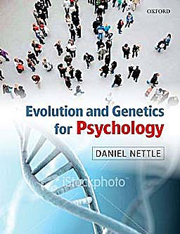 Portada del libro 9780199231515 Evolution and Genetics for Psychology