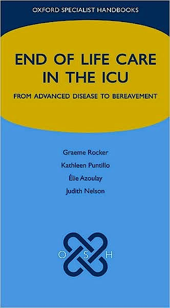 Portada del libro 9780199239245 End of Life Care in the Icu. from Advanced Disease to Bereavement