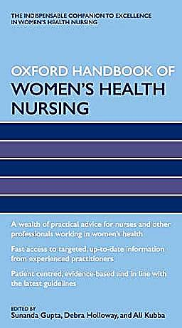 Portada del libro 9780199239627 Oxford Handbook of Women's Health Nursing