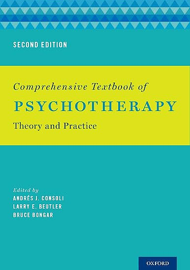 Portada del libro 9780199358014 Comprehensive Textbook of Psychotherapy. Theory and Practice