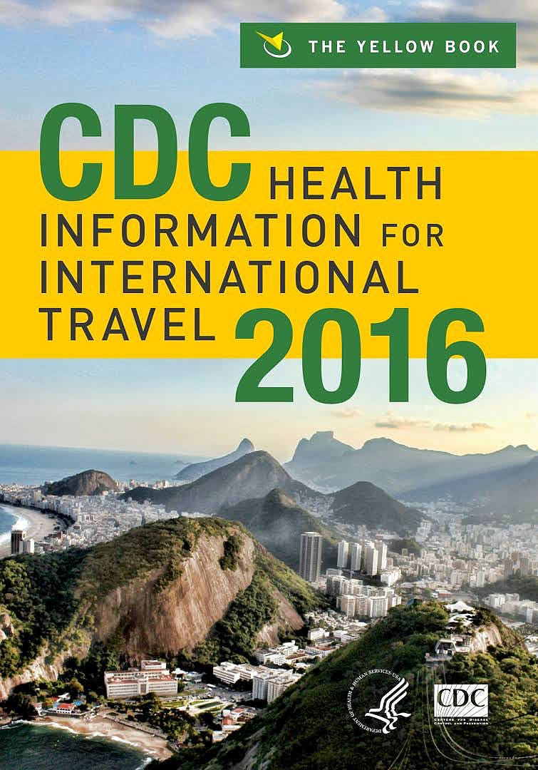 Portada del libro 9780199379156 Cdc Health Information for International Travel 2016