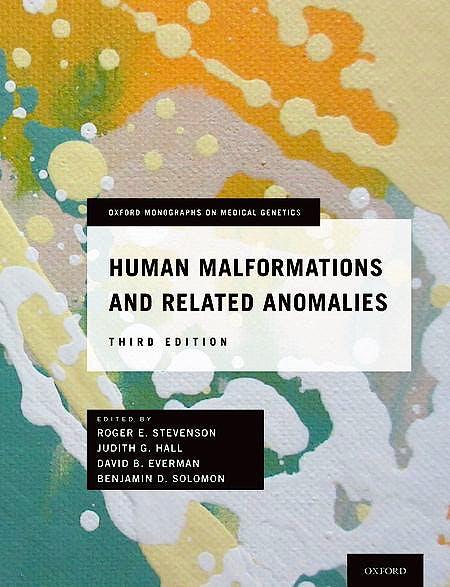 Portada del libro 9780199386031 Human Malformations and Related Anomalies
