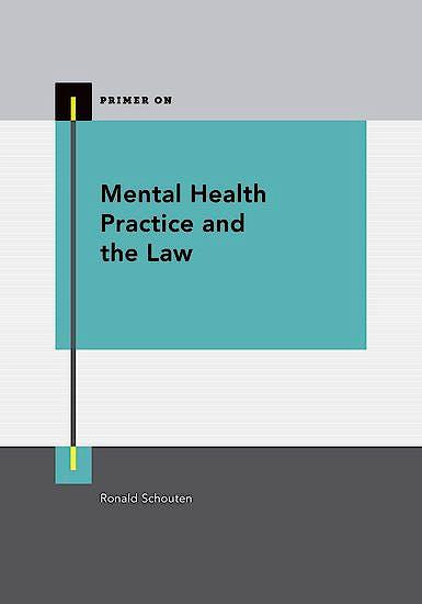 Portada del libro 9780199387106 Mental Health Practice and the Law