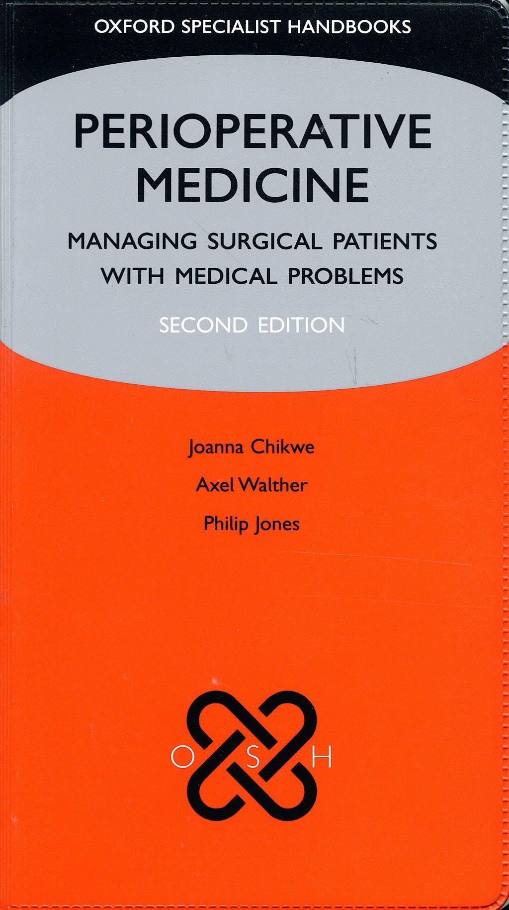Portada del libro 9780199533350 Perioperative Medicine: Managing Surgical Patients with Medical Problems
