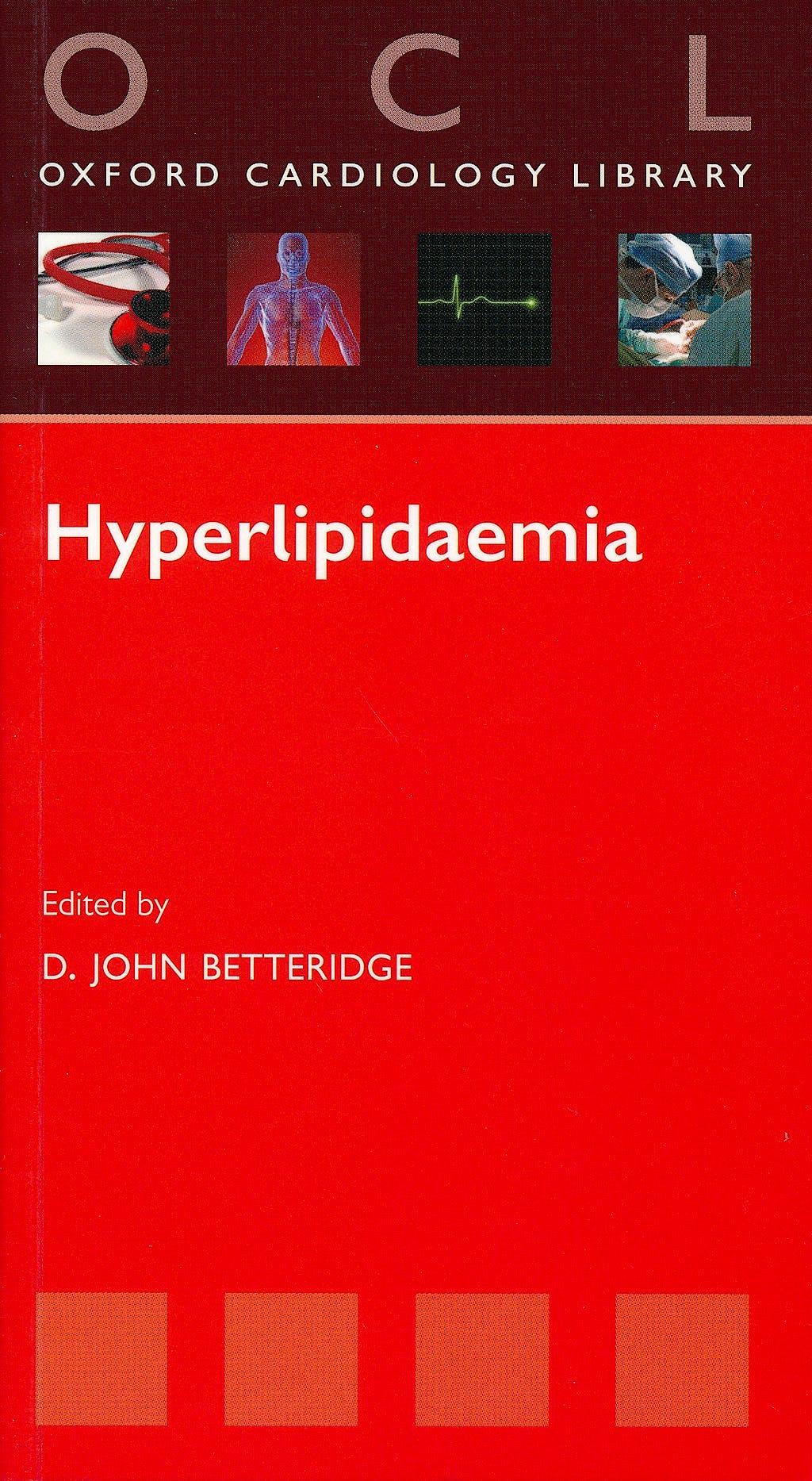 Portada del libro 9780199543502 Hyperlipidaemia (Oxford Cardiology Library)