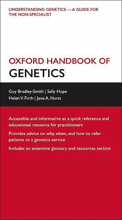 Portada del libro 9780199545360 Oxford Handbook of Genetics