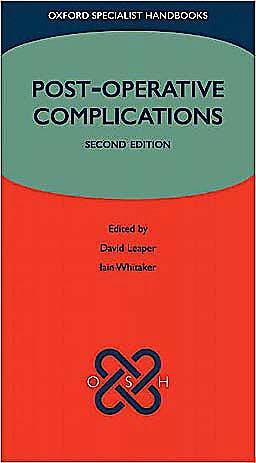Portada del libro 9780199546268 Post-Operative Complications (Oxford Specialist Handbooks)