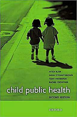 Portada del libro 9780199547500 Child Public Health