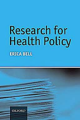 Portada del libro 9780199549337 Research for Health Policy