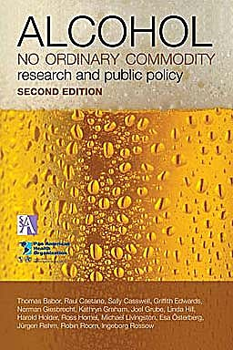 Portada del libro 9780199551149 Alcohol: No Ordinary Commodity. Research and Public Policy