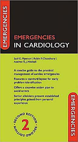 Portada del libro 9780199554386 Emergencies in Cardiology
