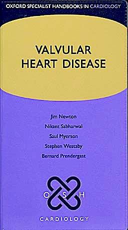 Portada del libro 9780199559237 Valvular Heart Disease (Oxford Specialist Handbooks in Cardiology)