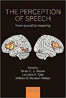 Portada del libro 9780199561315 The Perception of Speech, from Sound to Meaning