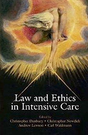 Portada del libro 9780199562039 Law and Ethics in Intensive Care