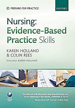 Portada del libro 9780199563104 Nursing Evidence-Based Practice Skills (Prepare for Practice)