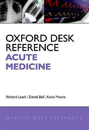 Portada del libro 9780199565979 Oxford Desk Reference. Acute Medicine