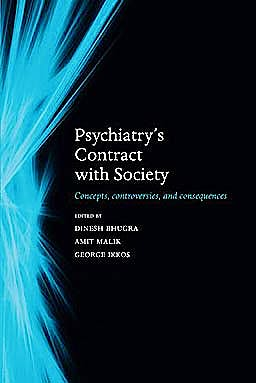 Portada del libro 9780199566778 Psychiatry's Contract with Society. Concepts, Controversies, and Consequences