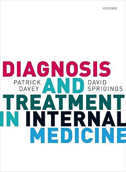 Portada del libro 9780199568741 Diagnosis and Treatment in Internal Medicine