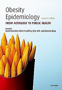 Portada del libro 9780199571512 Obesity Epidemiology. from Aetiology to Public Health