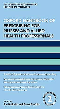 Portada del libro 9780199575817 Oxford Handbook of Prescribing for Nurses and Allied Health Professionals
