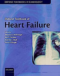 Portada del libro 9780199577729 Oxford Textbook of Heart Failure