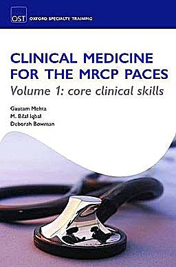Portada del libro 9780199578689 Clinical Medicine for the Mrcp Paces, 2 Volumes Pack (Oxford Specialty Training: Revision Texts)