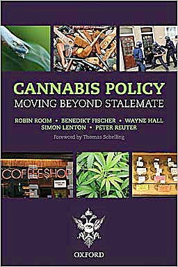 Portada del libro 9780199581481 Cannabis Policy. Moving beyond Stalemate